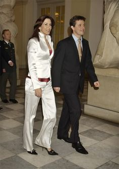 HRH Crown Prince Frederik & HRH Crown Princess Mary of Denmark.