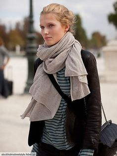 Scarves are definitely my obsession..