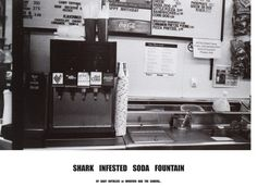 """Shark Infested Soda Fountain """"by Baby Ruthless or whoever had the camera"""""""