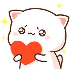 Mochi Mochi Peach Cat Daily Life Cute Bunny Cartoon, Cute Kawaii Animals, Cute Cartoon Pictures, Cute Love Pictures, Cute Love Cartoons, Cute Love Memes, Cute Love Gif, Chibi Cat, Cute Chibi