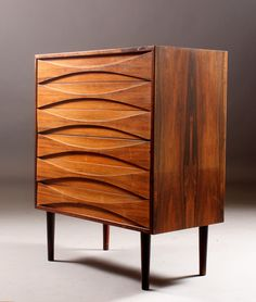 Andre Vodder & Anton Borg, Denmark | Rosewood Chest of Drawers for Sibast Møbler, Denmark, c.1960's. Beautiful.