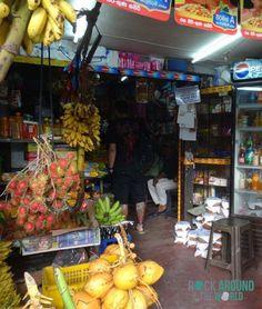Kleiner Supermarkt in Matara, Sri Lanka