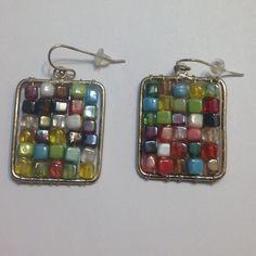 Price Drop Beaded Earrings