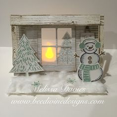 Snow Place & Peaceful Pines Stamp Sets