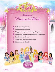 adisneyfairytale:  nerdydisneynerd:  I do these all the time though. LET'S DO IT ALL IN A WEEK. :D (via Disney Princess)  I found a dress too but instead of a ball it's anti-prom! 3 down, 4 to go!  Everybody participate~