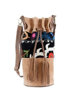 hippie hobo chic | Bag Lady / Hippie Chic Hobo Bag Beige Leather
