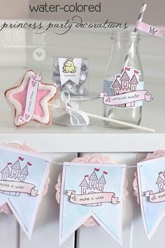 princess party decorations! by mom2sofia, via Flickr