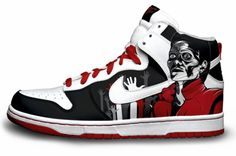 Thriller! Custom Nike Air Force One's