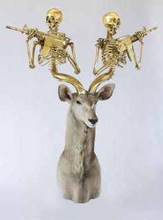 Armed horns....  Oh deer!