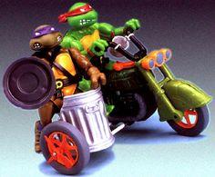 Teenage Mutant Ninja Turtles Action Figures: Turtlecycle