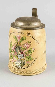 Bierkrug des Corps Franconia Tübingen 1897