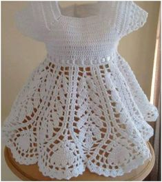 intermediate skill level. The pattern is really helpful, you can watch the video tutorial or start with written instructions. Enjoy  Full article with the pattern is below. SAVE THIS PATTERN TO YOUR CROCHET PINTEREST BOARD HERE! Lotus Baby Dress – the free pattern is here. Watch the tutorial how to make a single crochet. …