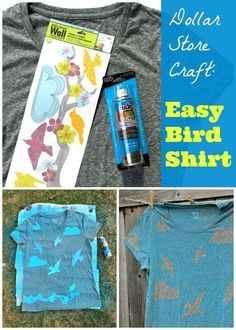 Create a cool summer look by grabbing botanicals (flowers, leaves, branches, etc.) from your yard and using them as a decorative element in this super easy and fun DIY fashion project! Spray paint your...