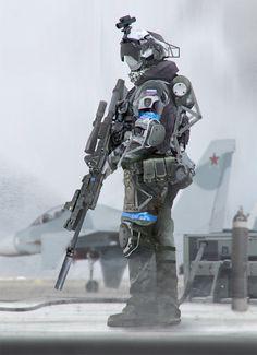Concept warrior