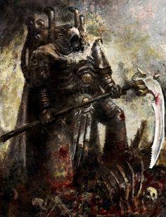 Death Guard Primarch Mortarion.