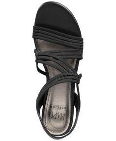 Impo Rocio Wedge Sandals - Black 7.5M
