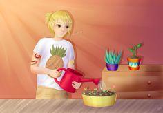Hugo ^^ My dear plant lover boy <3