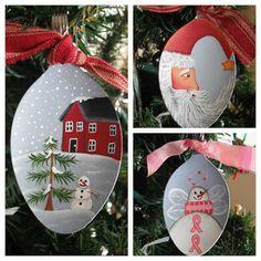 Cyndimac's Nick Knacks: More Spoon Ornaments