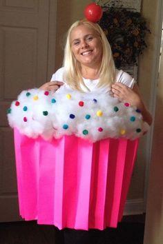Cupcake diy Halloween costume!❤️