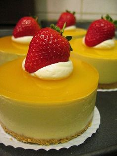 Outrageous {Mango} Cheesecake by tammi