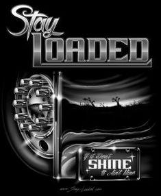 T-Shirts Archives - Stay Loaded Apparel Big Rig Trucks, Semi Trucks, Trucker Tattoo, Truck Art, Peterbilt Trucks, Big Dogs, Rigs, Screen Printing, Truck Drivers
