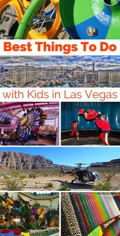 A list of family friendly activities on and off the Las Vegas Strip.