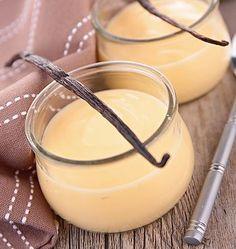 Recette de crème à la vanille minute allégée et adaptée WW et Thermomix