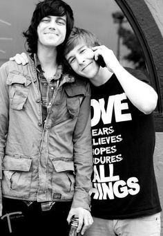 Sleeping With Sirens // Kellin and Justin