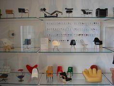 Vitra miniature furniture