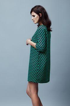 Платье Sultanna Frantsuzova в стиле 60-х В интернет-магазине --> http://sultannafrantsuzova-shop.ru/collection/wear/platya/platya_2923.html
