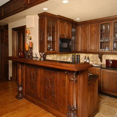 Wood carved cabinet work, beautiful!