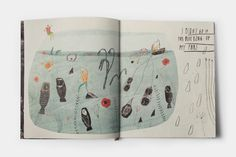 The goal of this project was to create an illustrated book about some imaginary world.  This is an illustrative story showing memories of a ...