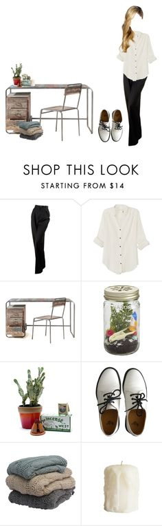 """Untitled #734"" by jaykitten123 ❤ liked on Polyvore featuring Chanel, rag & bone, CB2, Child Of Wild and Dr. Martens"