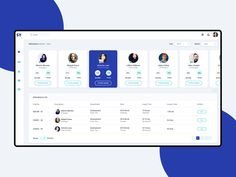 Attendance Dashboard designed by Riju Rajan. Connect with them on Dribbble; Form Design Web, Web Design Tutorial, App Ui Design, Web Dashboard, Ui Web, Dashboard Design, Web Layout, Layout Design, Design Design