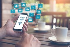 Wifi is not too strange for us and today many businesses have learned how to apply wifi in boosting your business and marketing products and services.