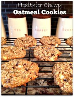 A healthier oatmeal cookie - these are sooooo good.... you would never know that they were a healthier option!!  - Princess Pinky Girl