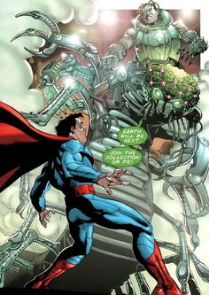 Brainiac vs Superman