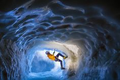 Photograph The ice cave experience by Kamil Tamiola on 500px