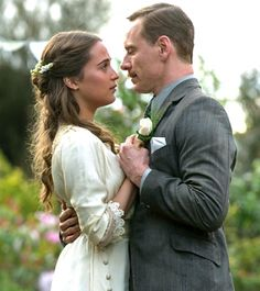 "Tom and Isabel in ""The Light Between Oceans"" upcoming 2016 film"