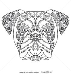 Zentangle Stock Photos, Images, & Pictures   Shutterstock