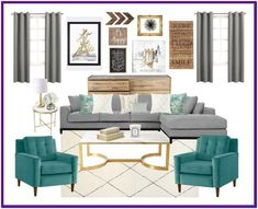 Turquoise Dining Room Ideas, Turquoise Room, Turquoise Living Room Accessories, Decorating with Turq Teal Living Rooms, Living Room Colors, New Living Room, Living Room Modern, Living Room Interior, Living Room Designs, Bedroom Colors, Apartment Interior, Turquoise Dining Room