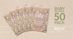 Oh Baby Seed Favor Bundle (50 - Pack)