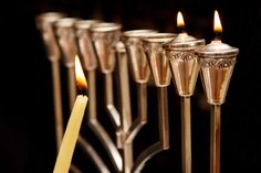 Light a Menorah and Recite the Hanukkah Prayers