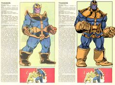 The Official Handbook to the Marvel Universe - REDUX Edition: THANOS by Tim Seeley
