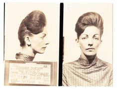 Vintage mug shots. Most of these are from the Mpls/St. Paul area. Too funny!