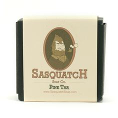 Sasquatch Bar Soap, $6.00 #birchbox