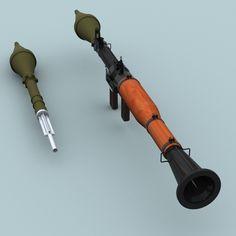 RPG-7 Rocket Launcher | Rpg-7_rocket_launcher_02