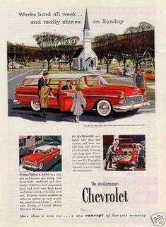 Chevrolet Bel Air Beauville Wagon (1955)