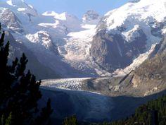 glacier - Morteratsch - Piz Palü - Piz Bernina