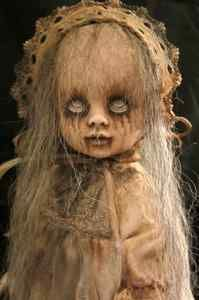 Creepy and wonderful One of a kind art doll sold on eBay